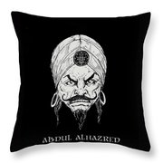 The Mad Arab Throw Pillow