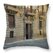 The Madrasah Of Granada Throw Pillow