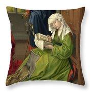 The Magdalen Reading Throw Pillow