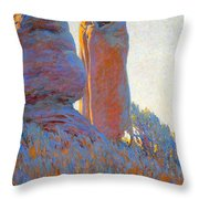 The Medicine Robe Throw Pillow