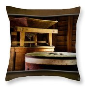 The Mingus Grinder-matted Throw Pillow