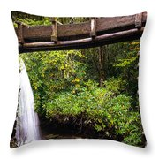 The Mingus Grist Mill Throw Pillow