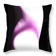 The Model Throw Pillow