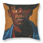 The Most Beautiful Boogie Man Throw Pillow