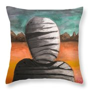 The Mummy And The Curse Of Eternity Throw Pillow