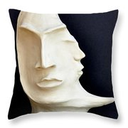 The Mysterious Moon Throw Pillow