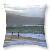 The Ocean Is Calling Me Throw Pillow