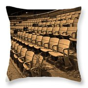 The Old Ballpark Throw Pillow