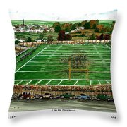 The Old Glory Years Throw Pillow