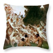 The Oreads Throw Pillow