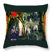 The Other Forest Throw Pillow by Lisa Yount