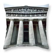 The Parthenon Throw Pillow