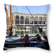 The Phoenician Throw Pillow