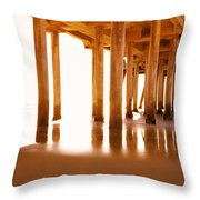 The Pier II Throw Pillow