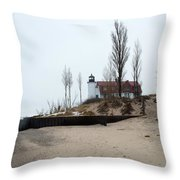 The Point Throw Pillow