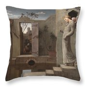 The Pool Of Bethesda Throw Pillow