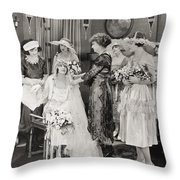 The Power Within, 1921 Throw Pillow