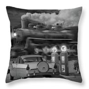 The Pumps Throw Pillow