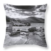 The Queen's Head Geological Park 2. Toned Throw Pillow