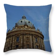 The Radcliffe Camera Throw Pillow
