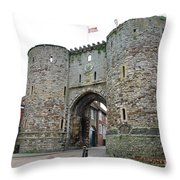 The Rye Landgate Throw Pillow