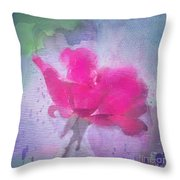 The Scent Of Roses Throw Pillow