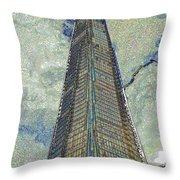 The Shard London Art Throw Pillow