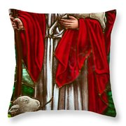 The Shepherd Throw Pillow