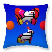 The Sky At Night Throw Pillow