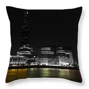 The South Bank London Throw Pillow