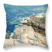 The South Ledges Appledore Throw Pillow