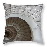 The Spiral  Throw Pillow