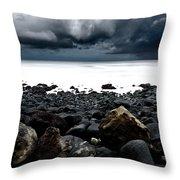 The Storm Throw Pillow