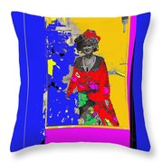 The Train Robbers Homage 1973 Ann-margret Want To Be Throw Pillow