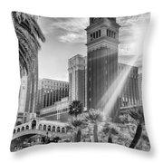 The Venetian Resort Hotel Casino Throw Pillow