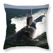 The Virginia-class Attack Submarine Uss Throw Pillow