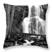 Moss Glen Falls Throw Pillow