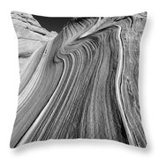 The Wave In The North Coyote Buttes Throw Pillow