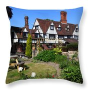 The Weavers Southborough Kent Throw Pillow