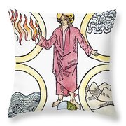 The World Soul, 1487 Throw Pillow