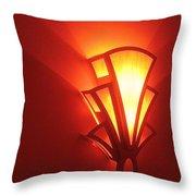 Theater Homage Art Deco Lighting Fixture Fox Tucson Tucson Arizona 2006 Grand Reopening Throw Pillow