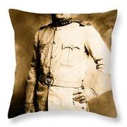 Theodore Roosevelt 1898 Throw Pillow
