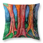 They Came To Me About Dawn  Throw Pillow