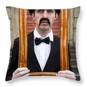 Thinking Outside The Rectangle Throw Pillow