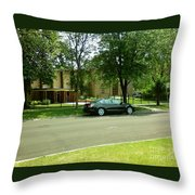 Third Unitarian Church Of Chicago Throw Pillow
