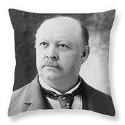 Thomas Brackett Reed (1839-1902) Throw Pillow
