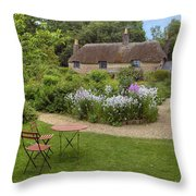 Thomas Hardy's Cottage Throw Pillow