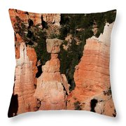 Thors Shadow Throw Pillow