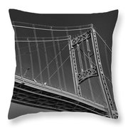 Thousand Islands Bridge Throw Pillow