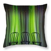 Three Throw Pillow by Margie Hurwich